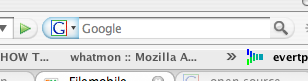OpenSearch flashing thing in FireFox 2