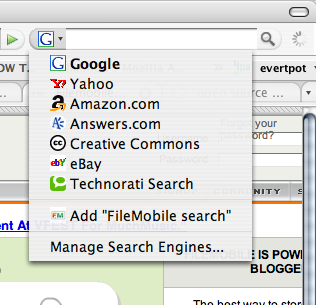 OpenSearch in FireFox2 (image2)